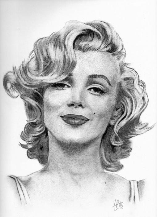 Marilyn Monroe par ARitz
